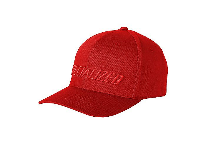 Specialized Podium Hat - Traditional Fit Red/Red