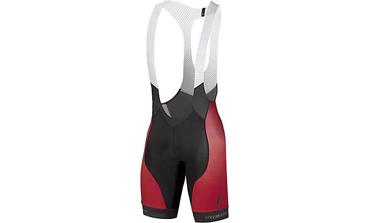 Specialized SL Pro Bib Short Matrix Red Team