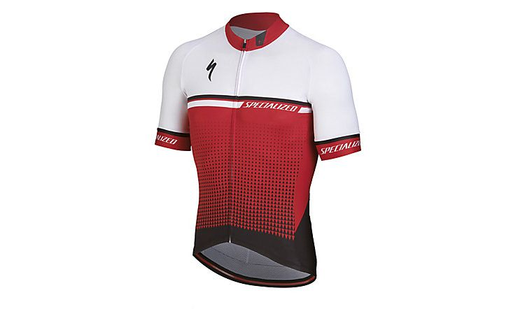 Specialized Kurzarm Trikot SL Expert Red