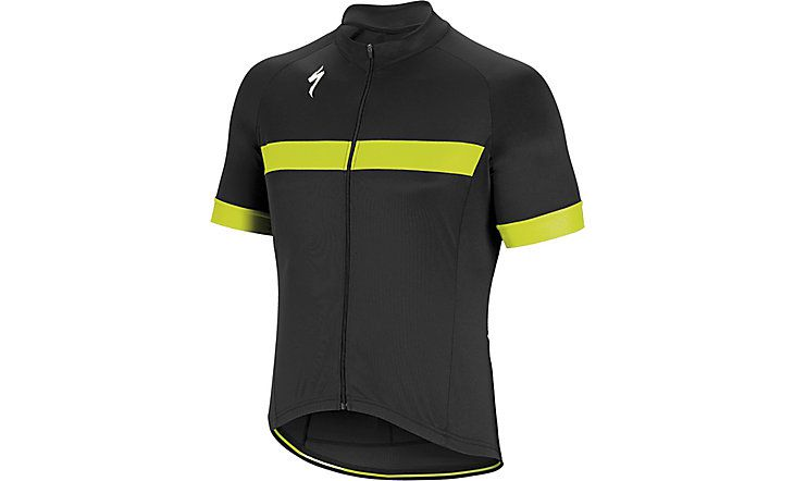Specialized Kurzarm Trikot RBX Sport Black/Neon Yellow L