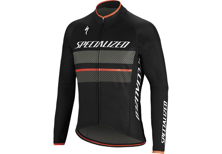 Specialized Therminal RBX Comp Logo Langarmtrikot Black/Black/Anthracite
