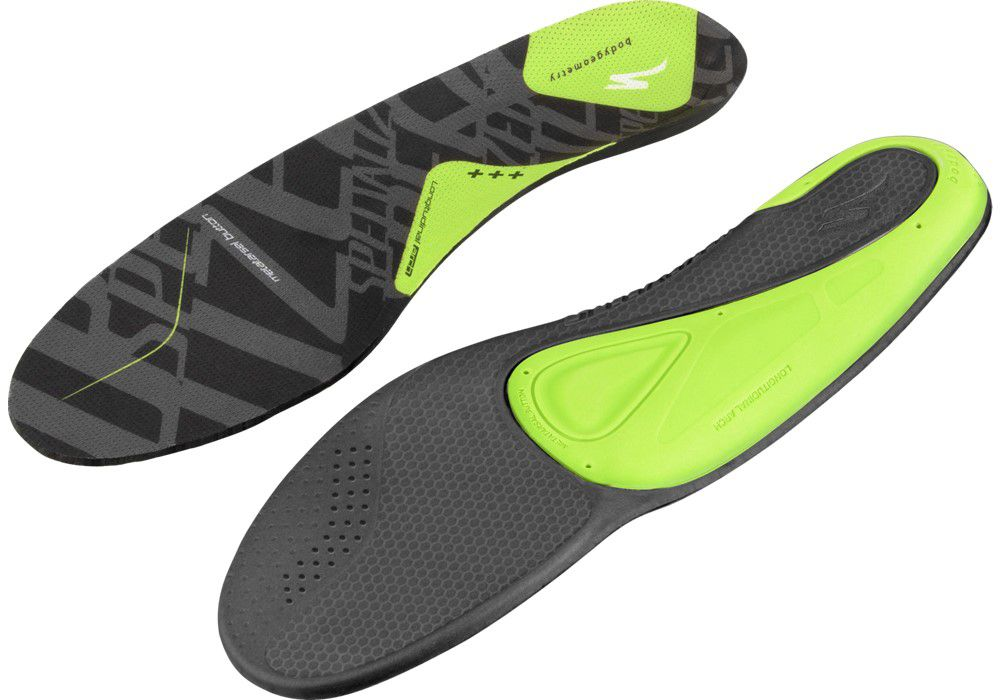 Specialized BG SL Footbed HIGH PERFORMANCE BODYGEOMETRY FOOTBED 2013 +++ grün 36-37