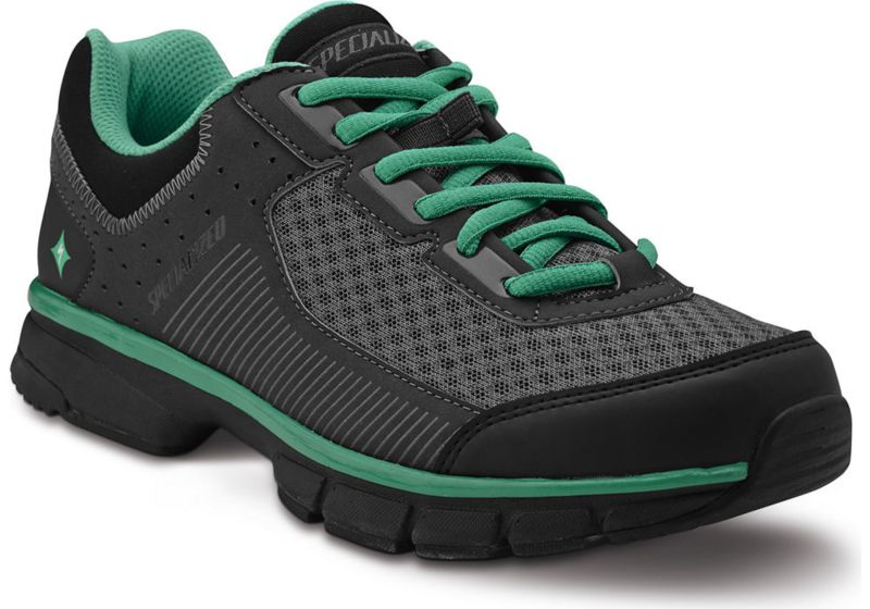 Specialized Damenschuhe Cadette Women  Black/Carbon/Emerald Green 41