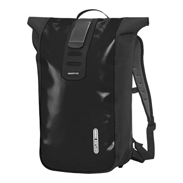 Ortlieb Rucksack Daypack Velocity available in black / petrol / yellow 23 L