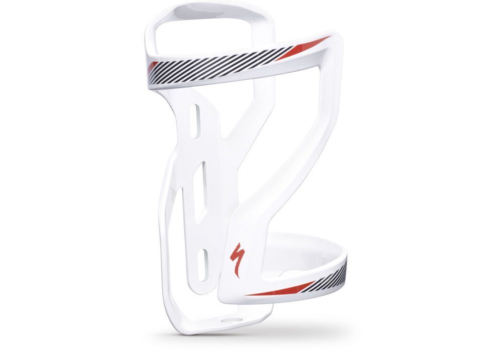 Specialized Flaschenhalter Zee Cage II rechts white-black-red