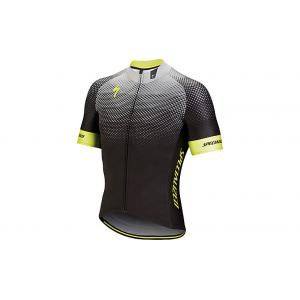 Specialized Kurzarm Trikot SL Pro Black Neon Yellow S