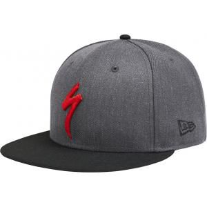 Specialized New Era 9Fifty Snapback Hat Heather Gray/Black/Red One Size