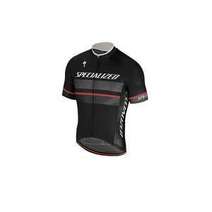 Specialized Kurzarm Trikot RBX Comp Logo Black/Anthracite L