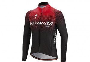 Specialized Therminal SL Team Expert LS Jersey Black/Red 2019